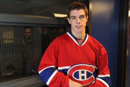 Michael Bournival, Canadiens' prospect