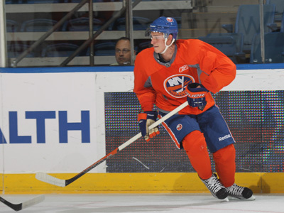 Andrey Pedan - Photo Courtesy of islanders.nhl.com