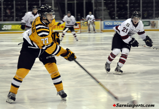 Anthony DeAngelo - Photo Courtesy of SarniaSports.com