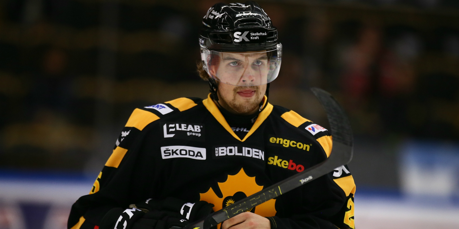 Axel Holmstrom - Photo Courtesy of www.hockeysverige.se