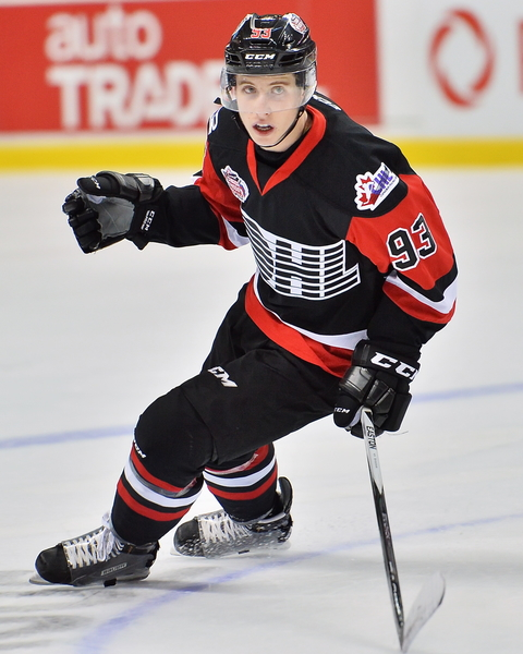 Mitch Marner - Maple Leafs prospect (Aaron Bell/OHL Images)