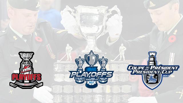 CHL Playoffs Graphic - photo courtesy: CHL.ca