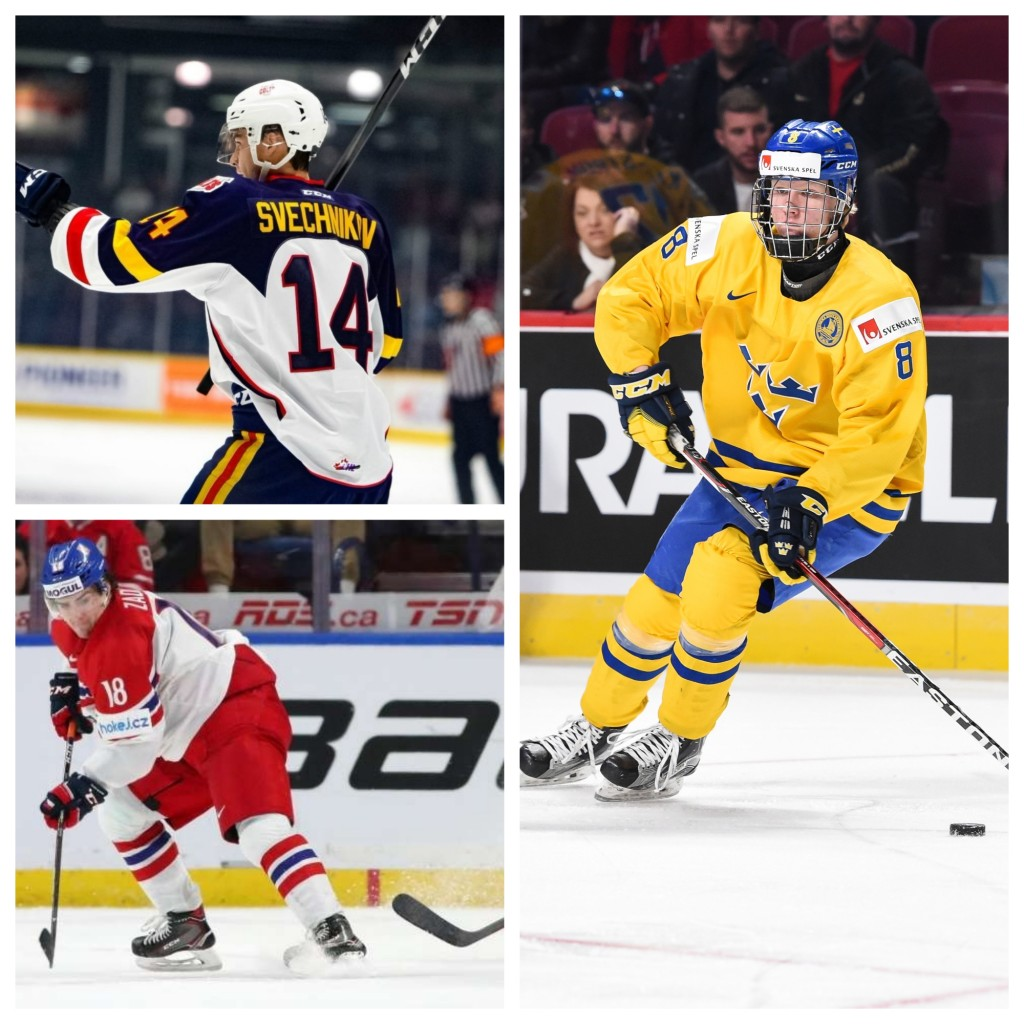 robinson s 2018 nhl draft rankings top 100 march