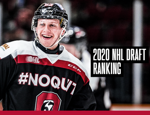 Robinson: 2020 NHL Draft Rankings – April 2020