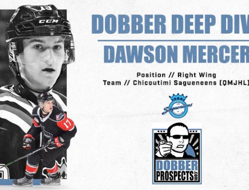 Draft Class Deep Dive: RW Dawson Mercer