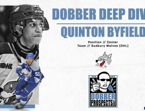 Draft Class Deep Dive: C Quinton Byfield