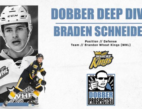Draft Class Deep Dive: RHD Braden Schneider