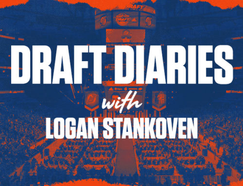 Draft Diaries: Logan Stankoven (October 2020)