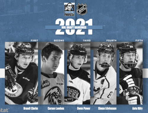 DP Scouting Team's 2021 NHL Draft Rankings (Nov 2020)